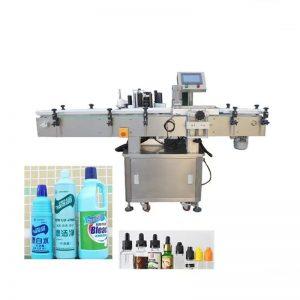Автоматична машина за етикетиране на бутилка за течности с дезинфектант