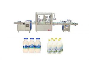 Автоматична машина за пълнене и затваряне на течности за 250ml 500ml