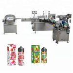 5-35 бутилки / мин. Автоматична машина за пълнене с течност за капкомер 10ml / 30ml стъклена бутилка