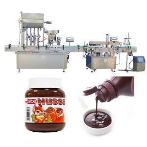 Автоматична машина за пълнене на бутилки с домати 10мл