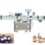 220V 50 / 60Hz напълно автоматична машина за етикетиране на кръгли бутилки