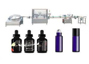Машина за пълнене на медицинско етерично масло