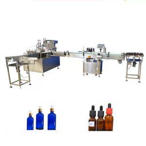 PLC Машина за пълнене на етерично масло за бутилка