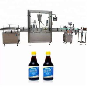 PLC контролна машина за стъкло за бутилка с 4 дюзи