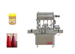 Полу-течна машина за пълнене на бутилка за сос