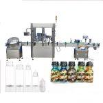 Машина за пълнене на бутилка с капсули със серво мотор, машина за управление на парфюм за управление на сензорен екран