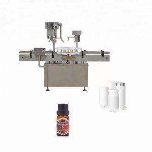 Машина за поставяне на бутилка от неръждаема стомана, използвана в медицината
